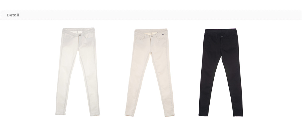 Basic Mid-Rise Skinny Pants|