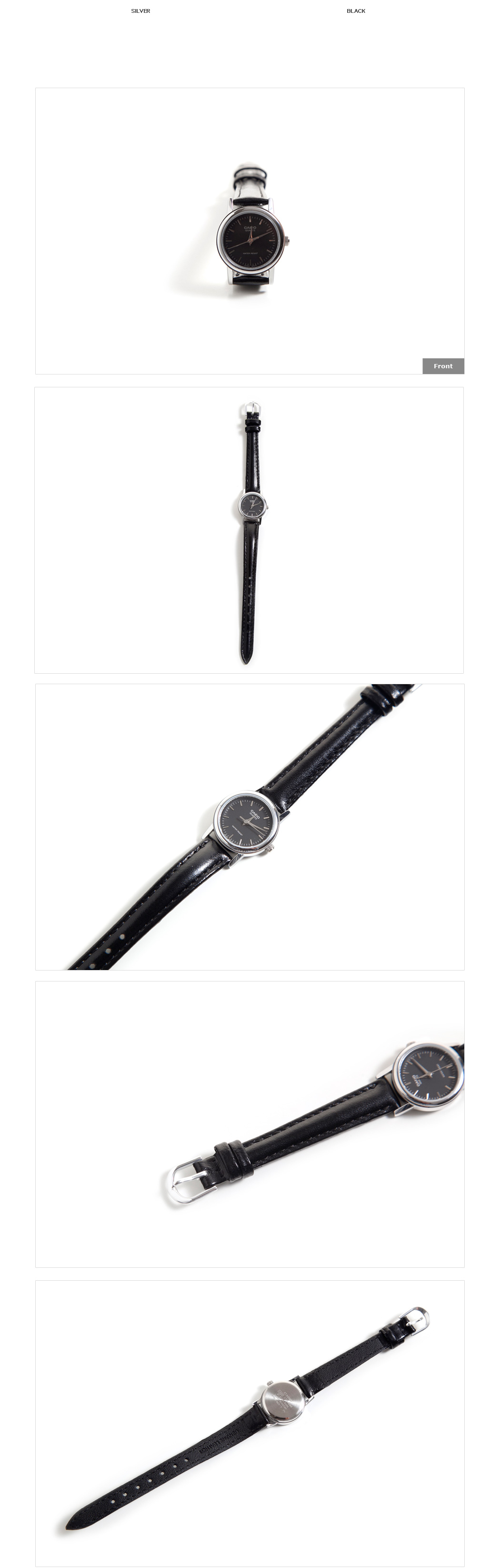 Round Face Wristwatch|