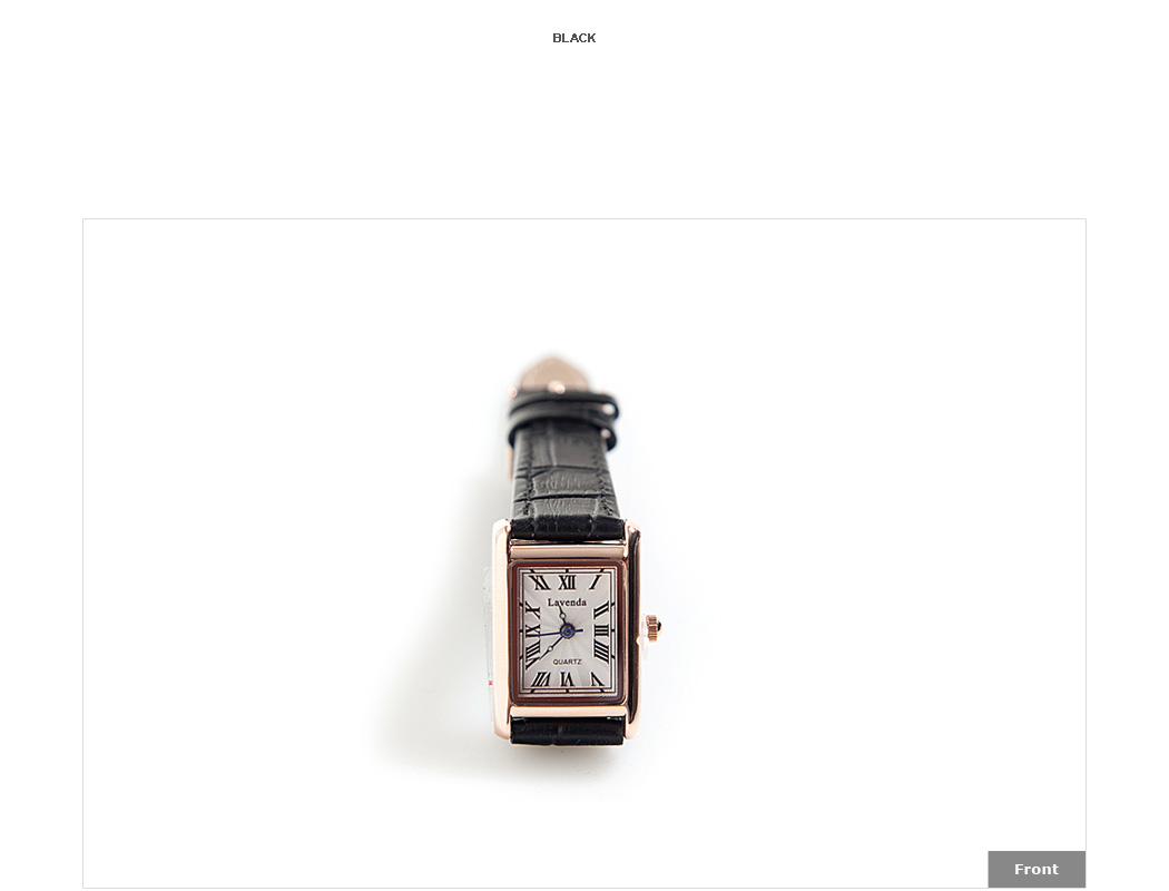 Square-Framed Wristwatch|