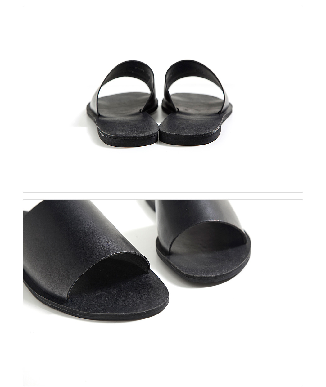 Wide Uppers Minimalist Slippers|