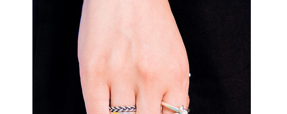 Silver-Tone Ring|