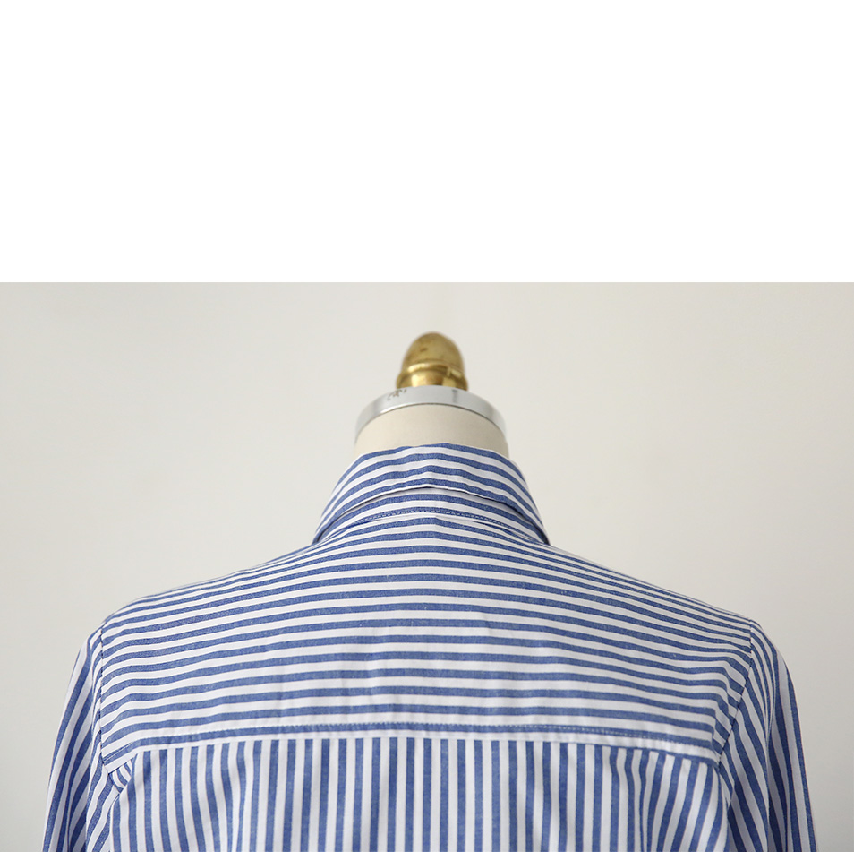 Stripes Button-Down Shirt|