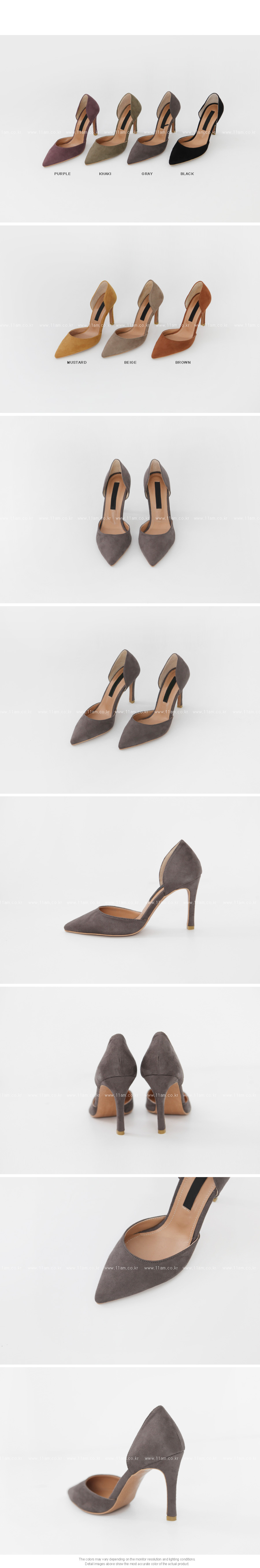 Pointed Toe D'Orsay Pumps|