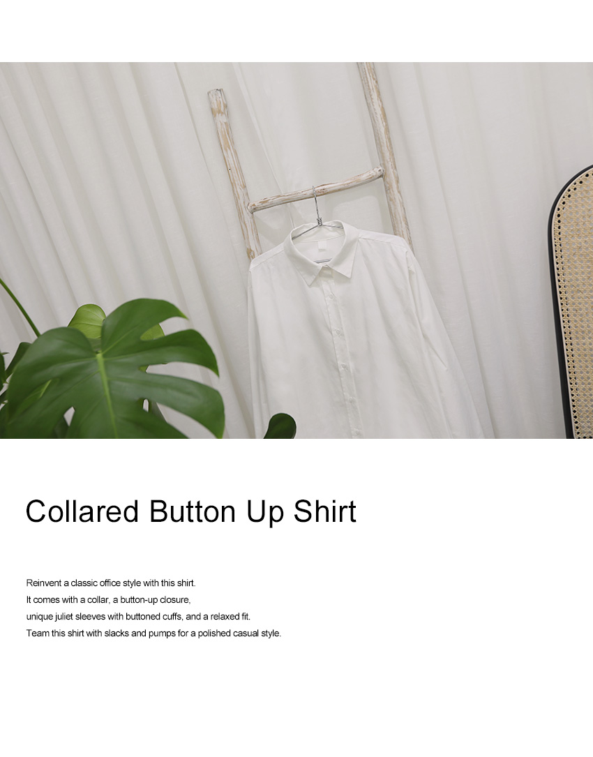 Collared Button Up Shirt|