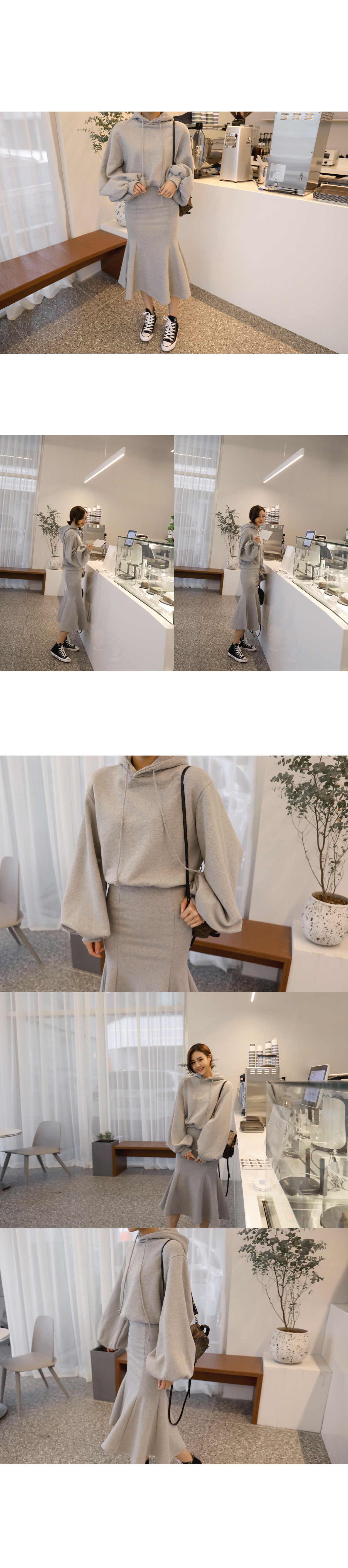 High Collar Drawstring Waist Coat|