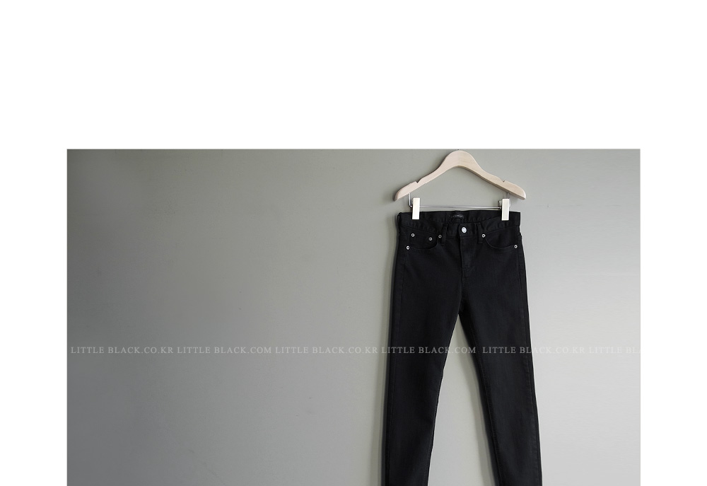 Skinny Fit Black Pants|