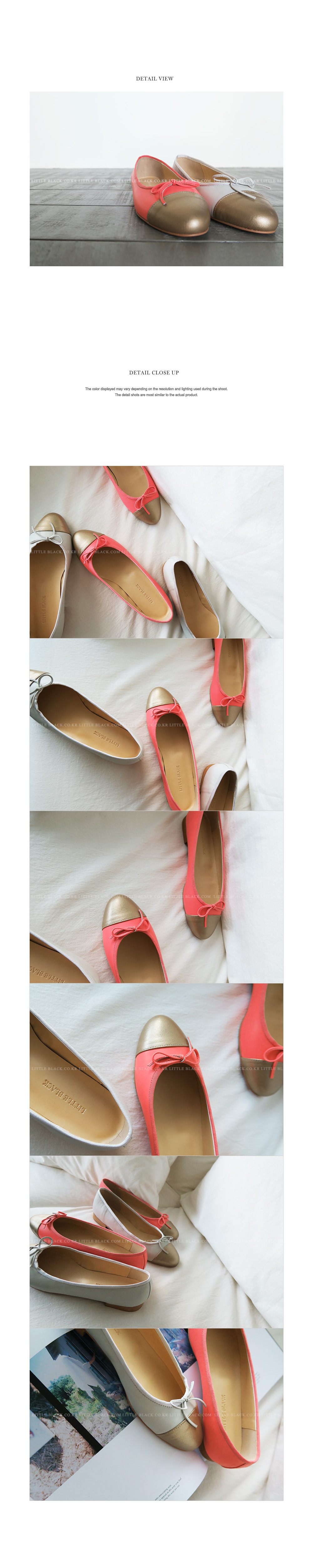 Contrasting Colored Ballet Flats|