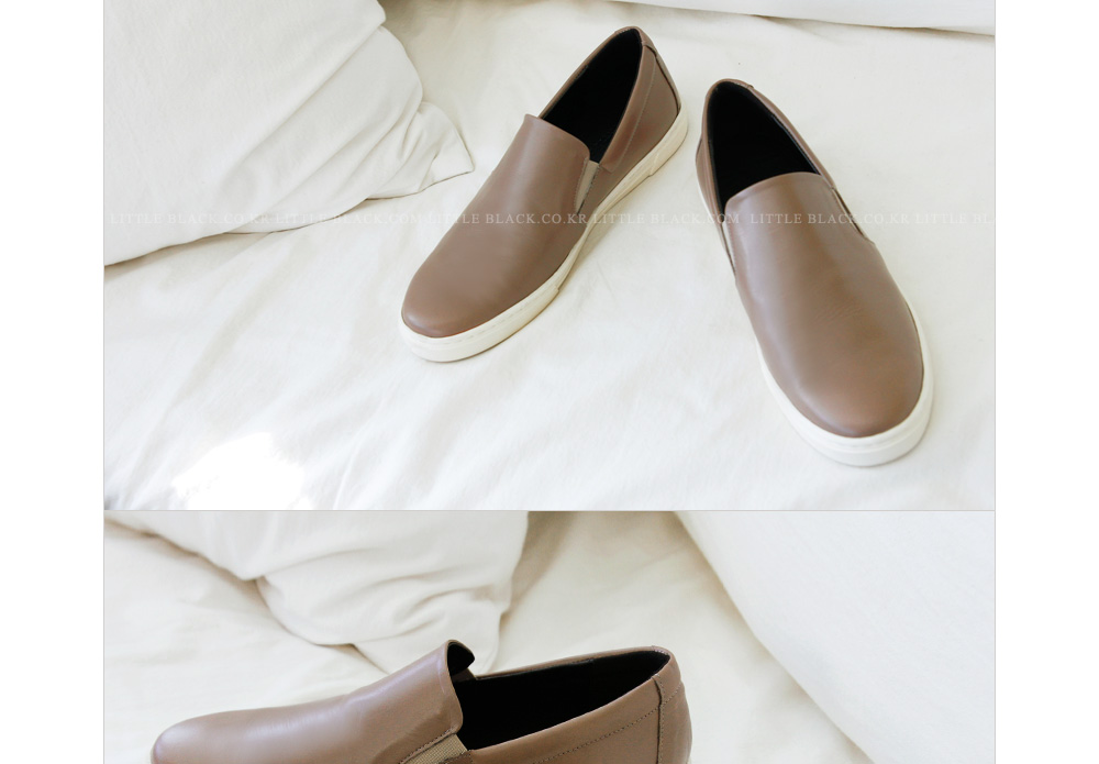 Lambskin Slip-On Sneakers|