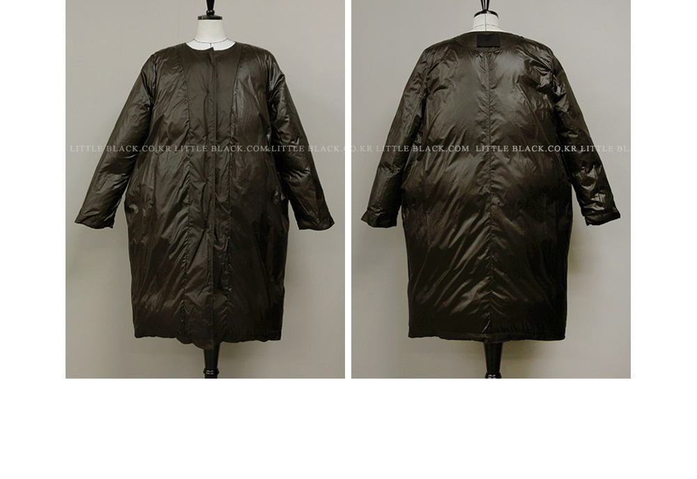 Loose Fit Padded Jacket|