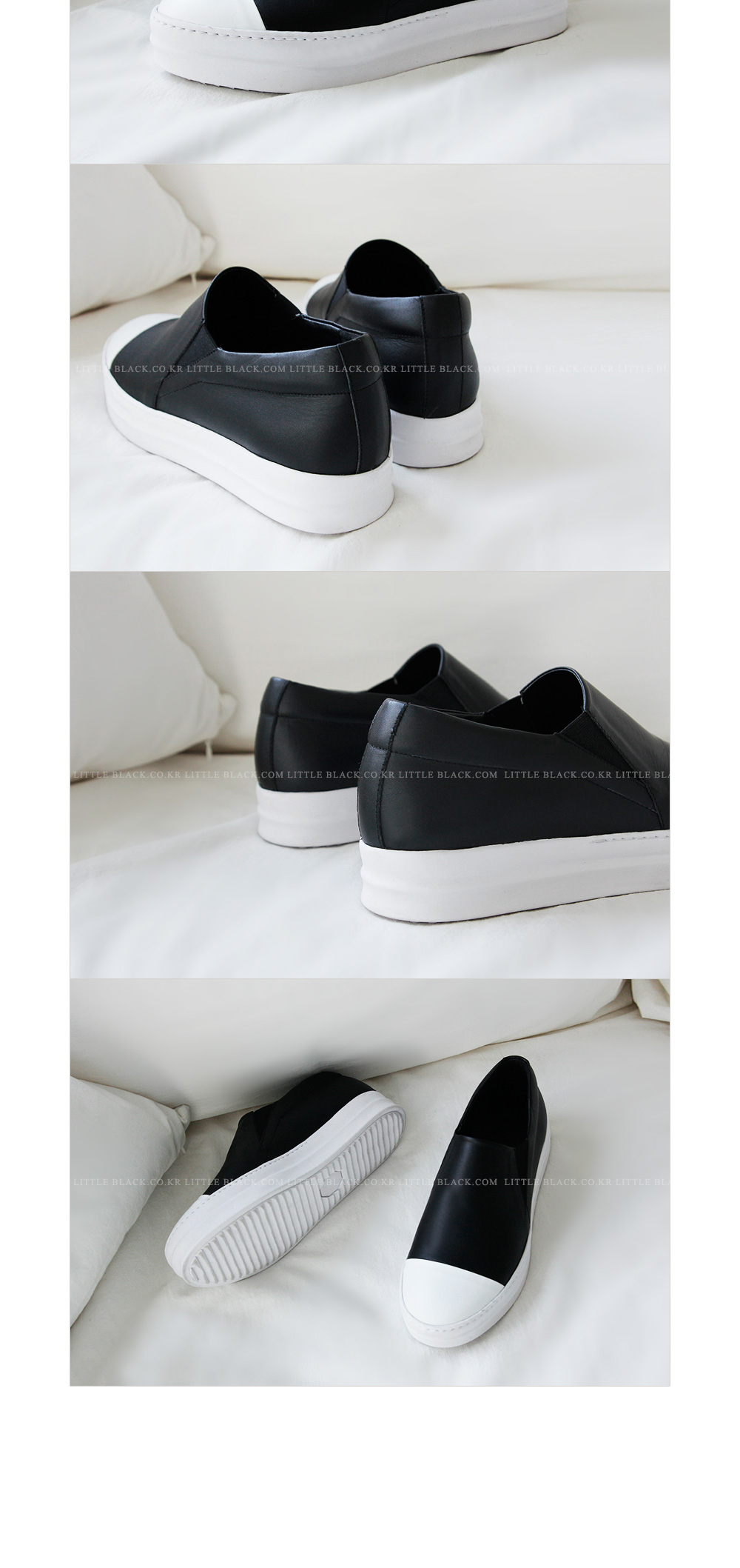 Cap Toe Slip-On Sneakers|