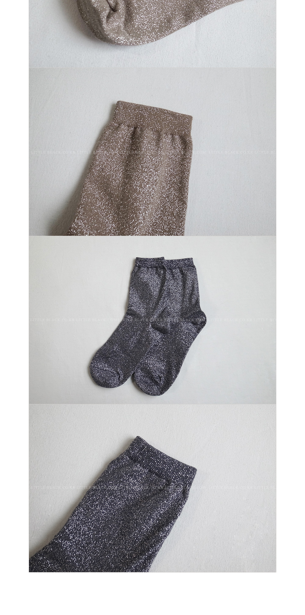 Metallic Socks|