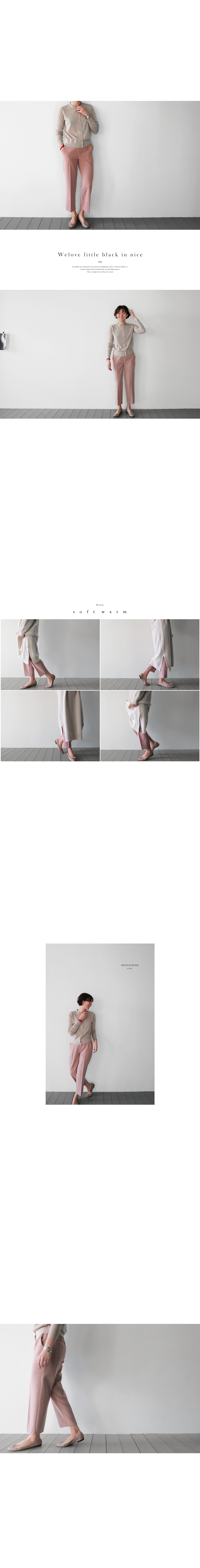 Contemporary Rayon Blend Trousers|