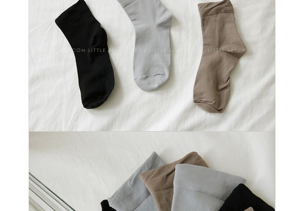 Solid Ankle Socks|