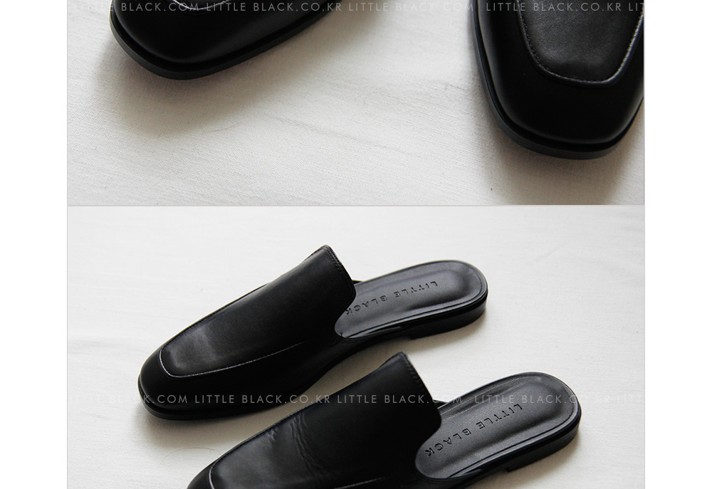 Contemporary Backless Loafers|