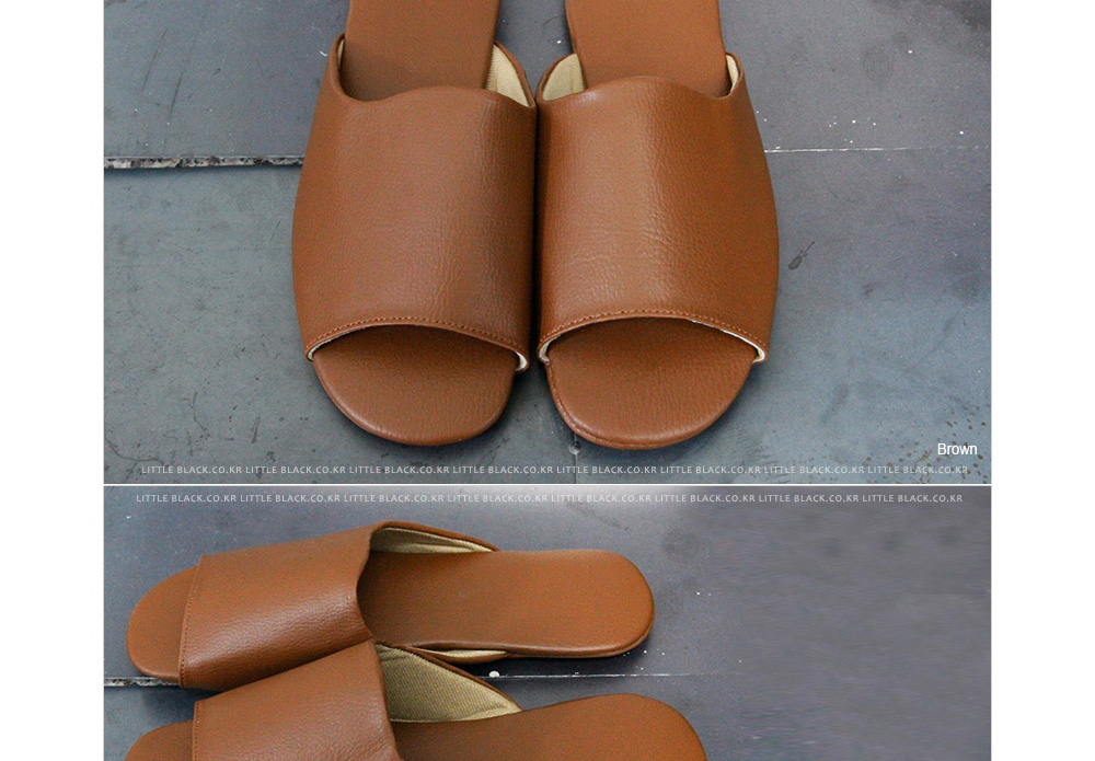 Plain Slip-on Sandals|