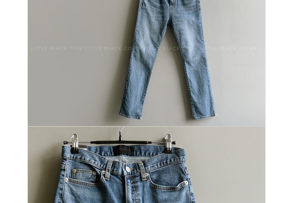 Slim-Fit 5-Pocket Denim Jeans|