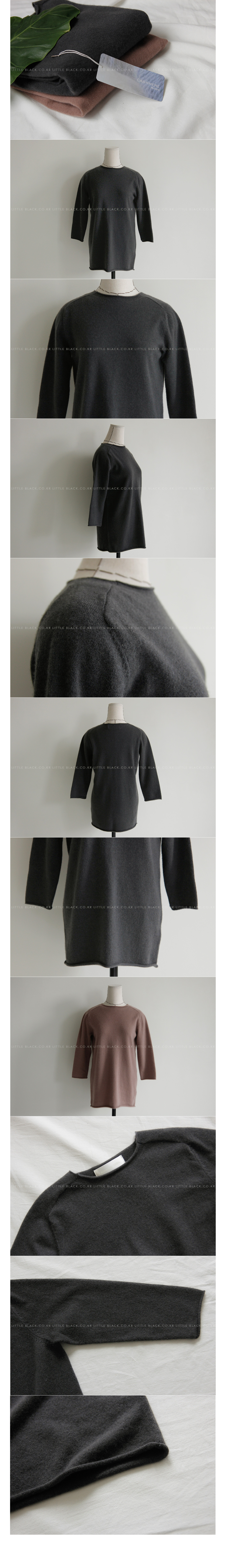 Long Sleeve Cashmere Sweater|