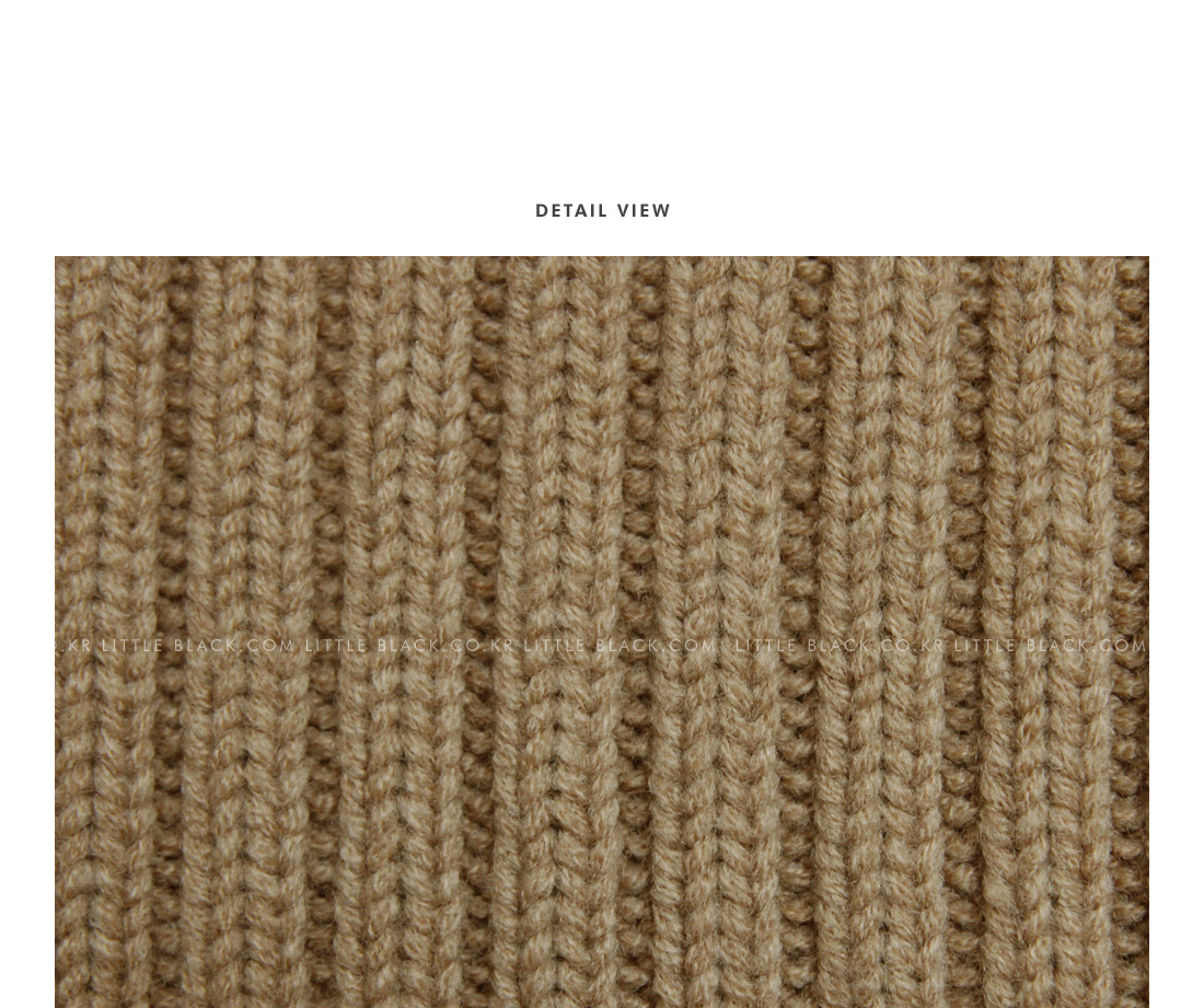 Ribbed Knit Neck Warmer|