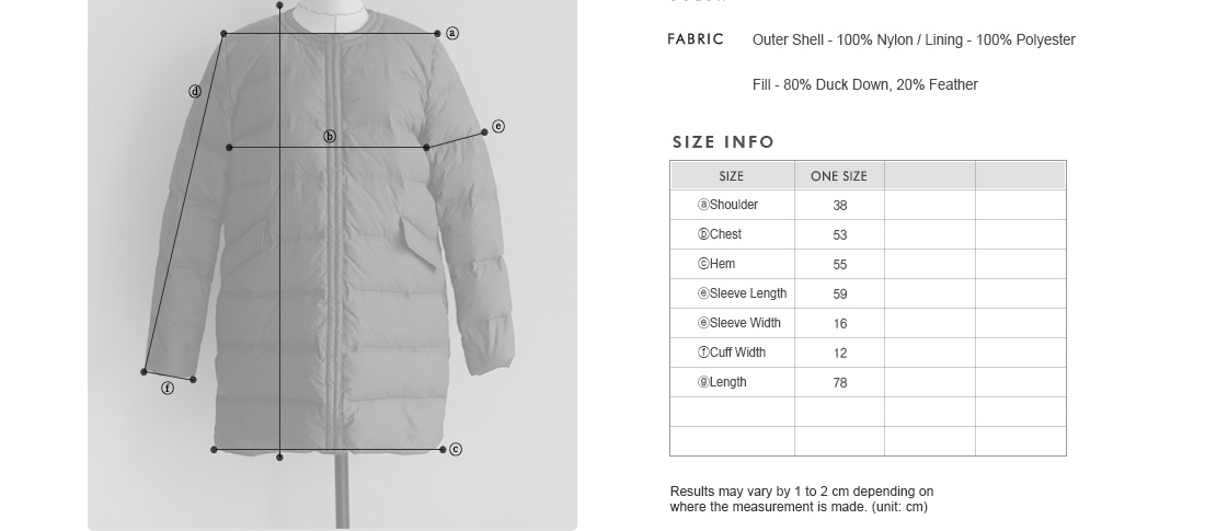 Round Neck Lightweight Down Jacket|