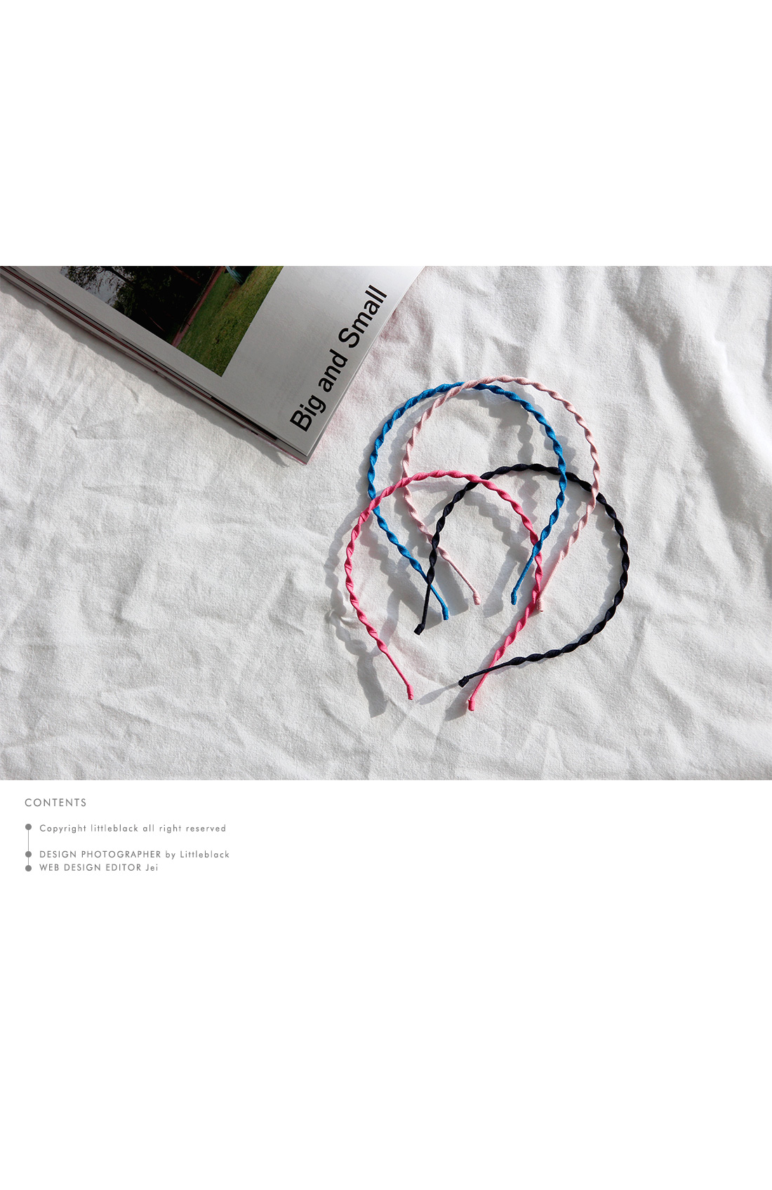 Slim Twisted Hairband|