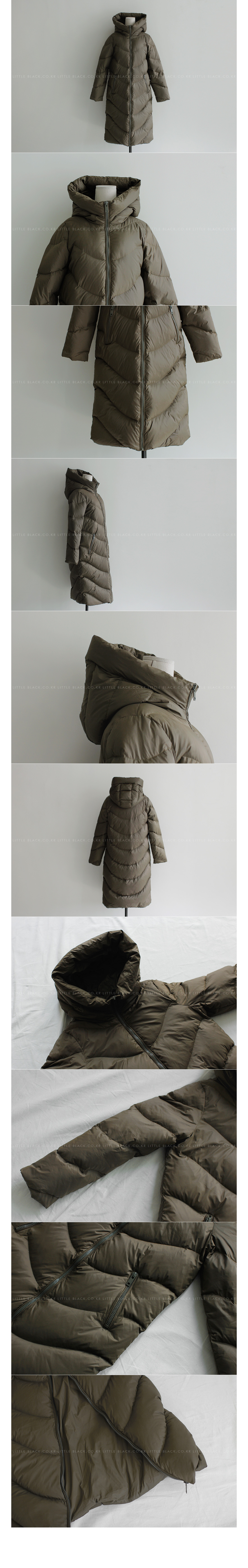 Duck Down Long Puffer Coat|