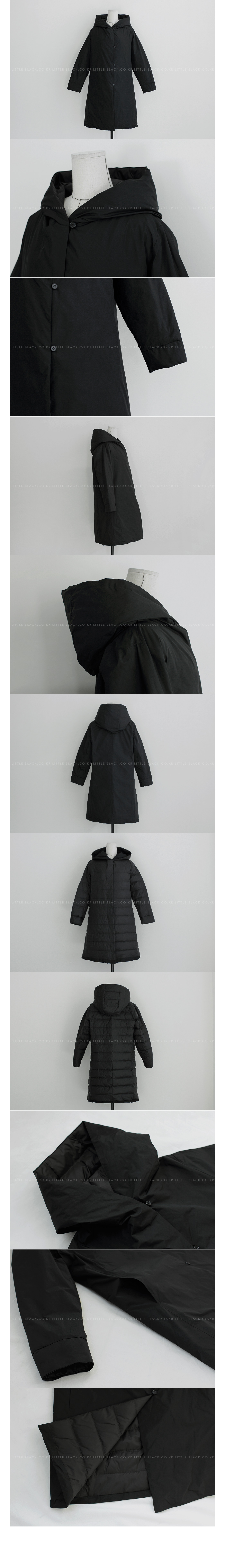Hooded Duck Down Coat|