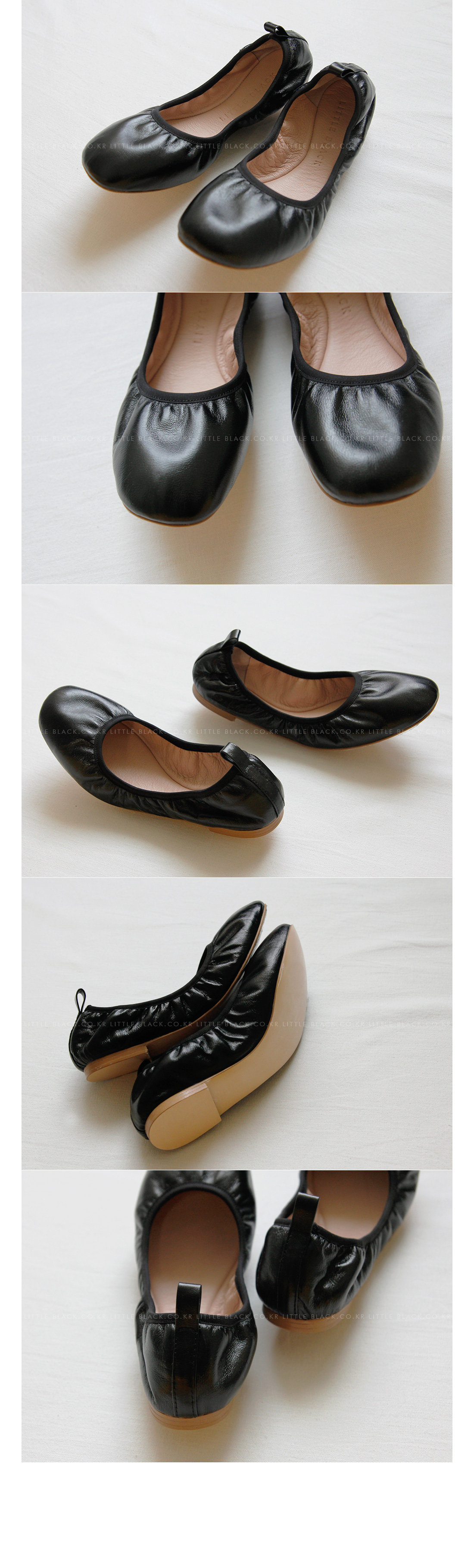 Bendable Black Flats|