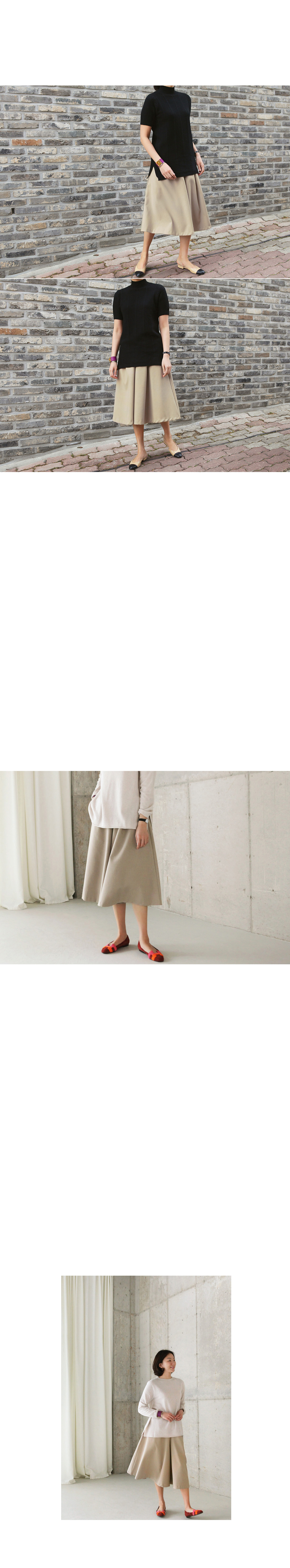 Front Pleat Culottes|