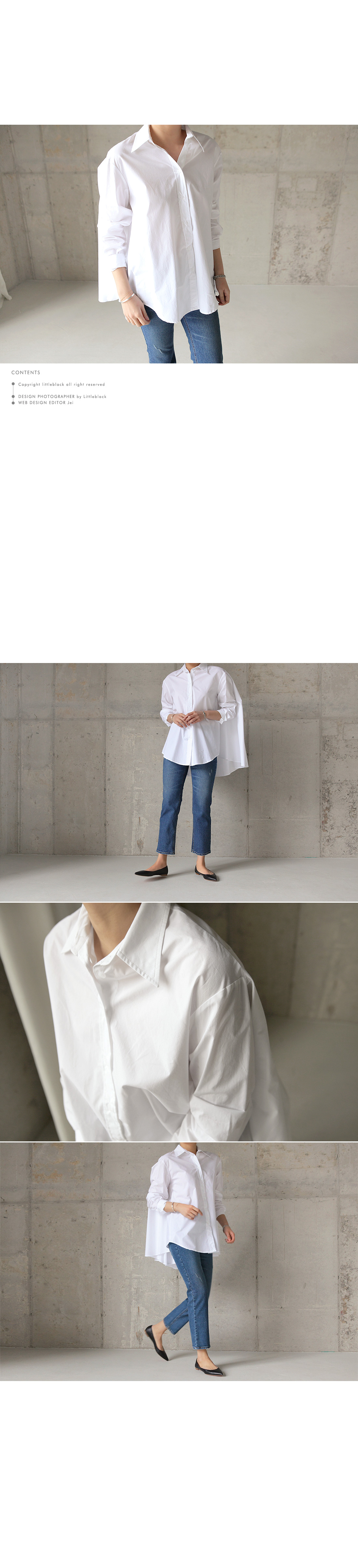 Flared Button Front Shirt|