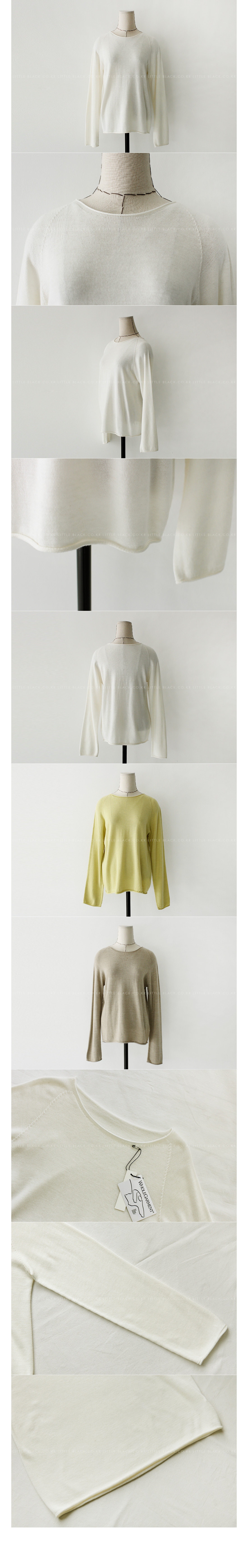 Boat Neck Relaxed Fit Knit Top|