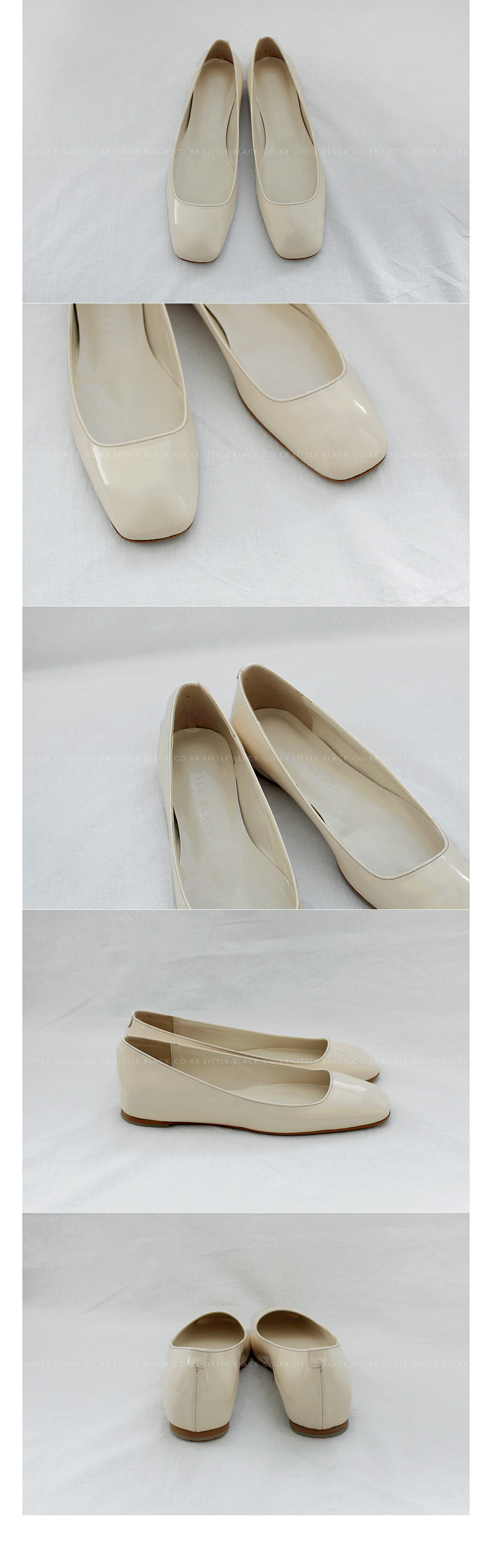 Square Toe Flat Shoes|