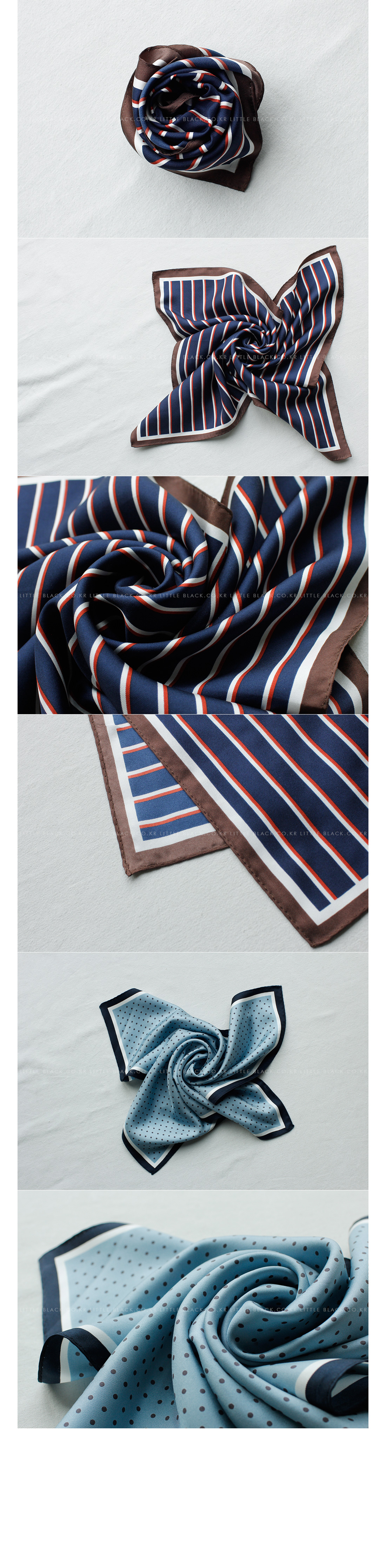 Patterned Silk Scarf|