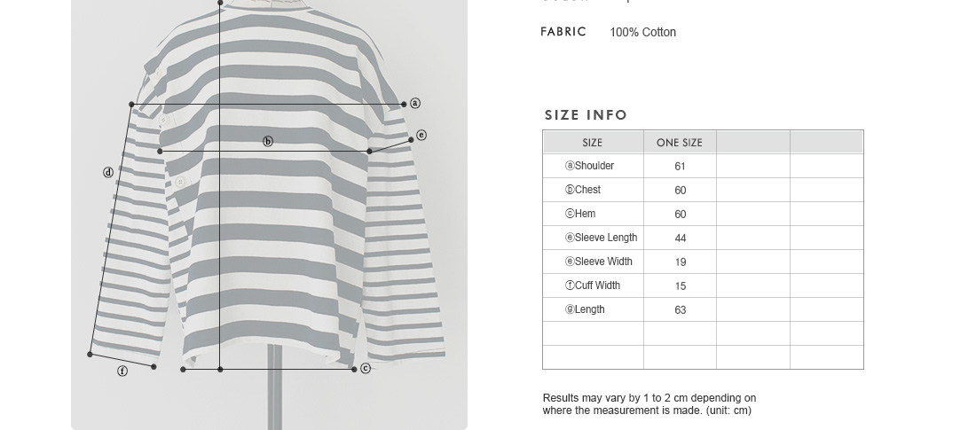 Button Accent Assorted Stripe T-Shirt|