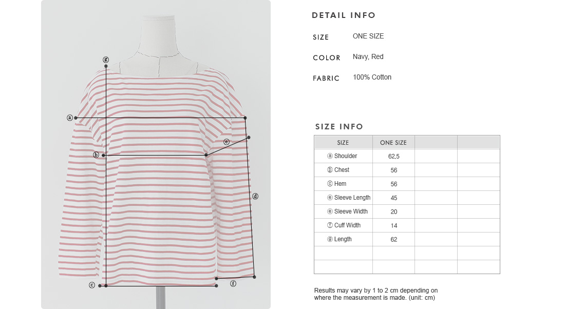 Loose Fit Striped T-Shirt|