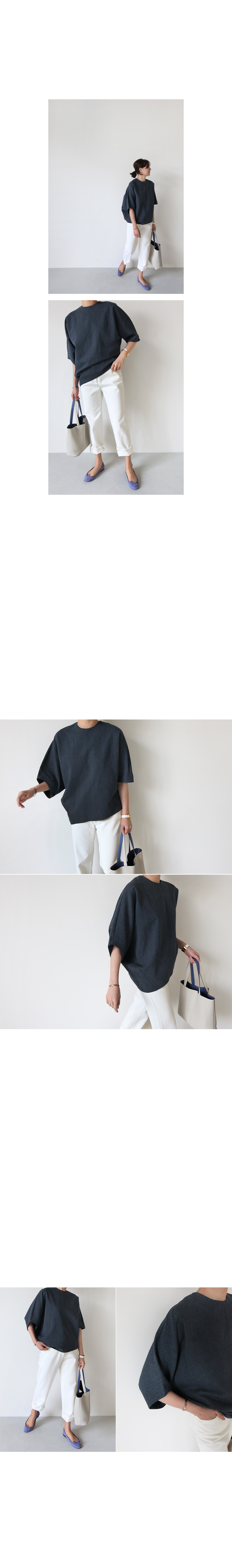 Asymmetric Dolman Sleeve Top|