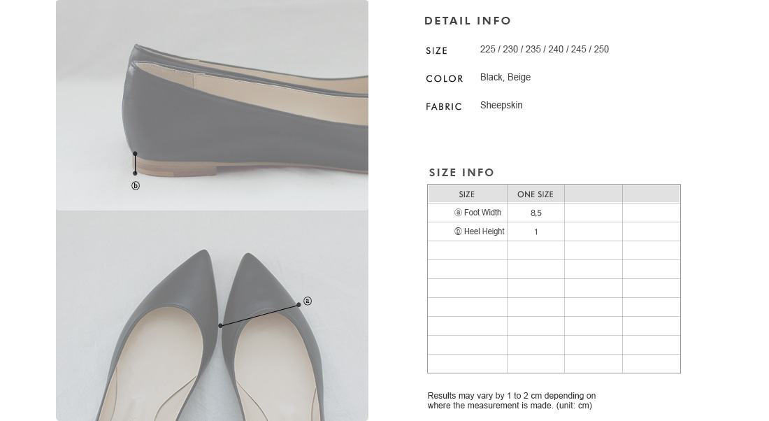 Pointed Toe Flats|