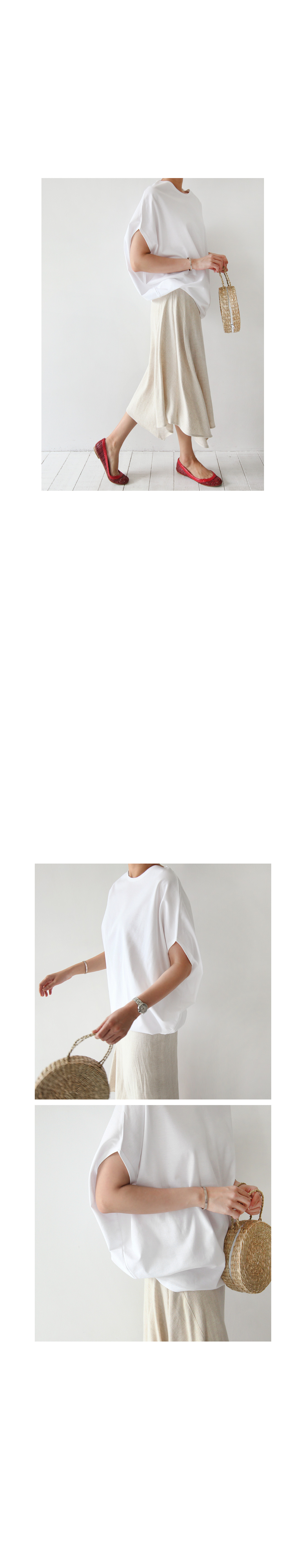 Loose Batwing Sleeve Top|
