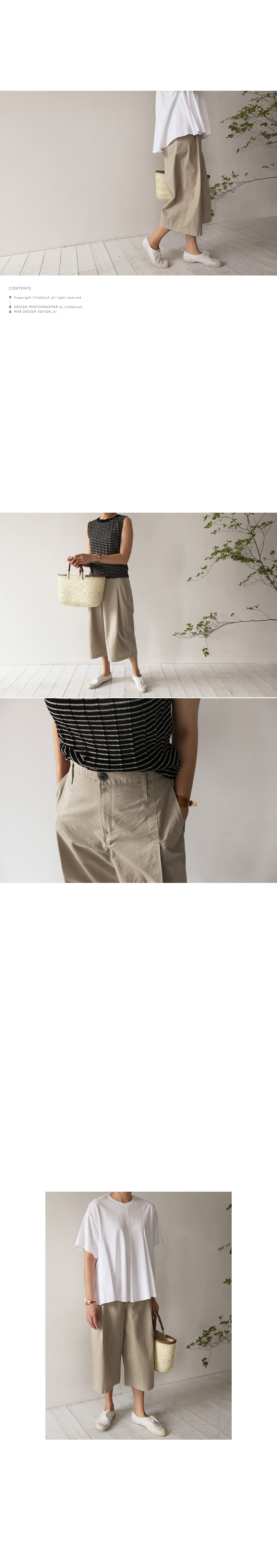 Pleated Wide Leg Culottes|