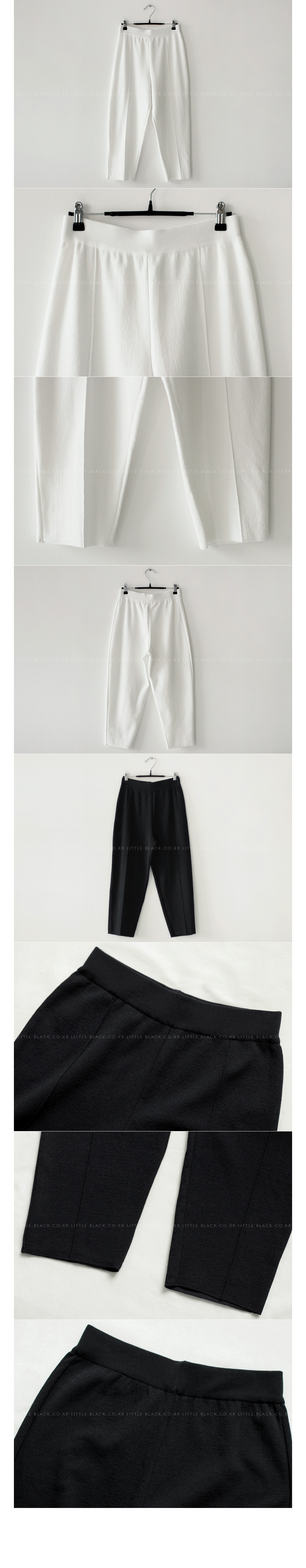 Cropped Knit Pants|