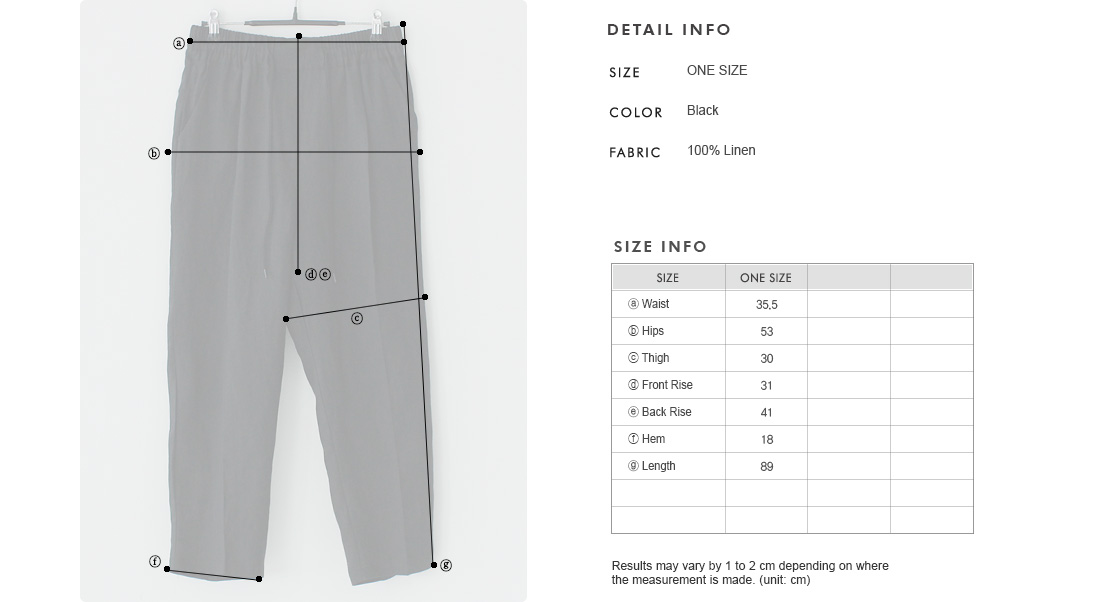 Front Pintuck Linen Ankle Pants|