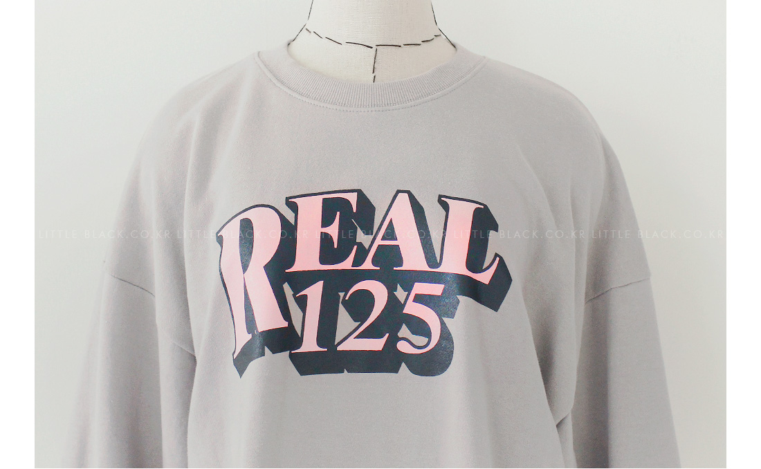REAL 125 Graphic Sweatshirt|