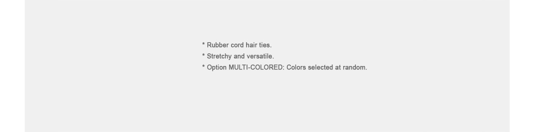 Phone Cord Hair Ties|