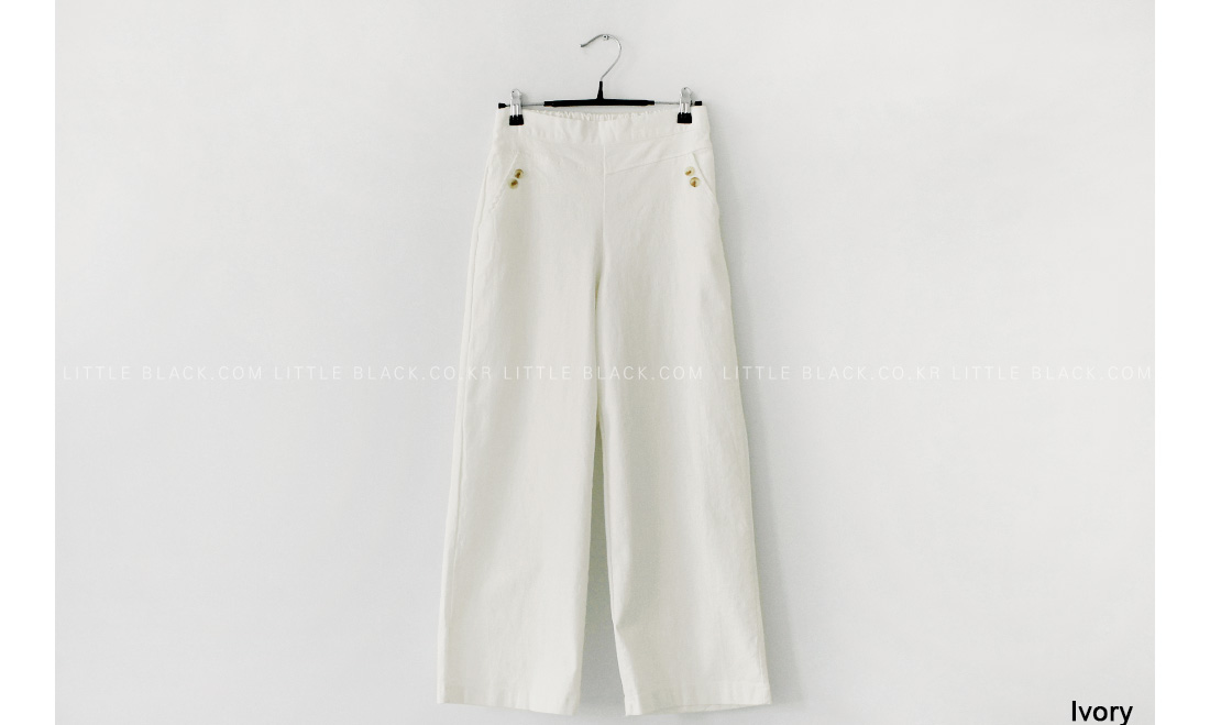 Wide Leg Pull-On Pants|