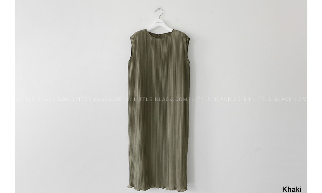 Crystal Pleated Shift Dress|