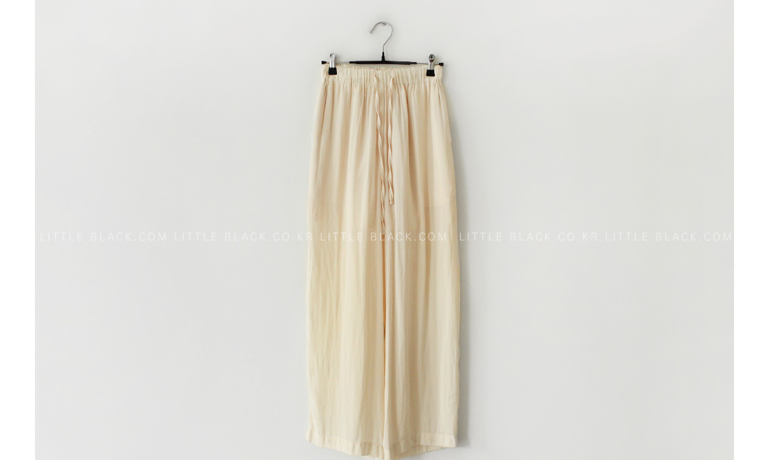 Satin Pull-On Pants|