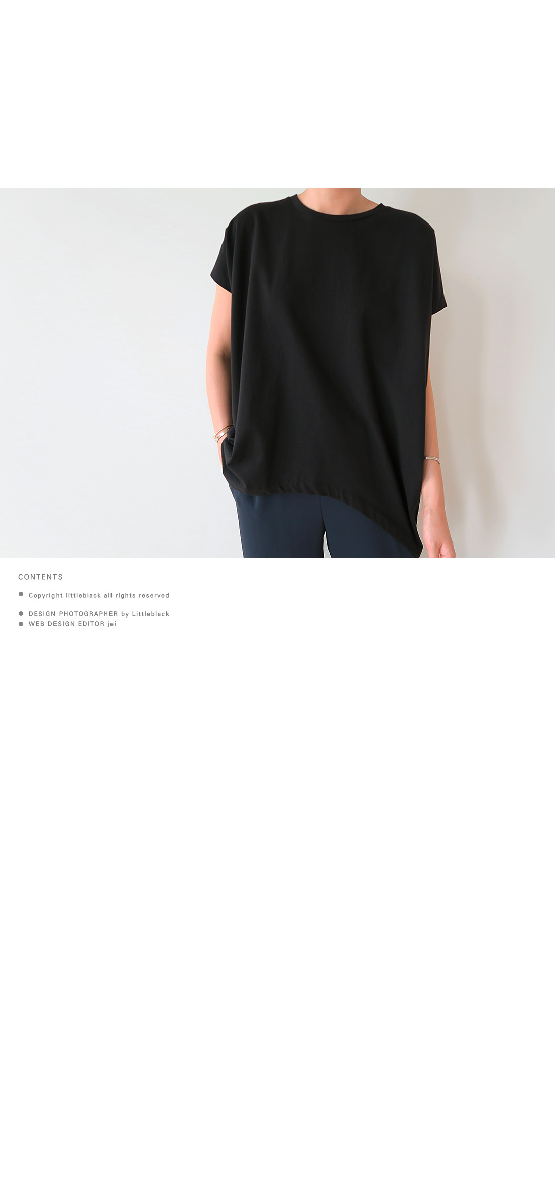 Batwing Sleeve Cotton T-Shirt|