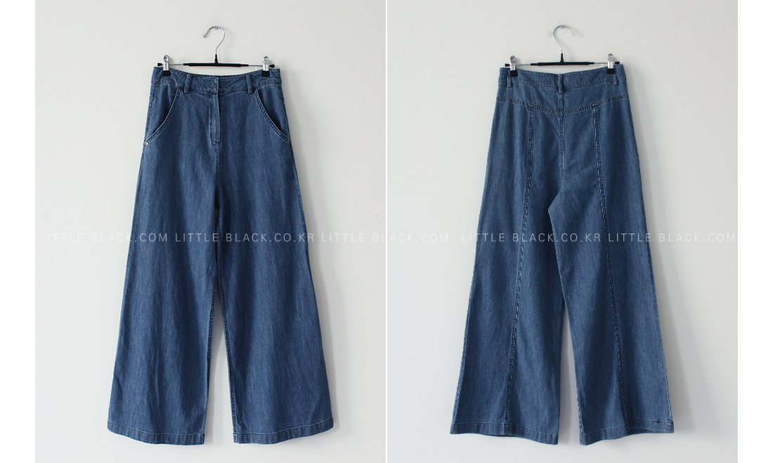 High-Rise Wide Leg Jeans|