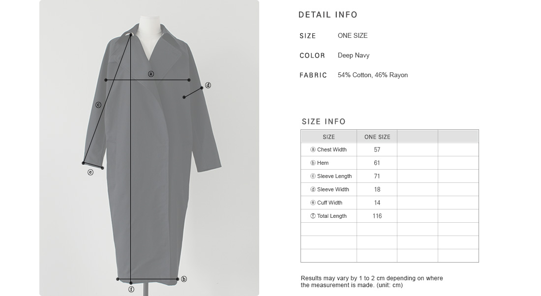 High Rear Vent Trench Coat|
