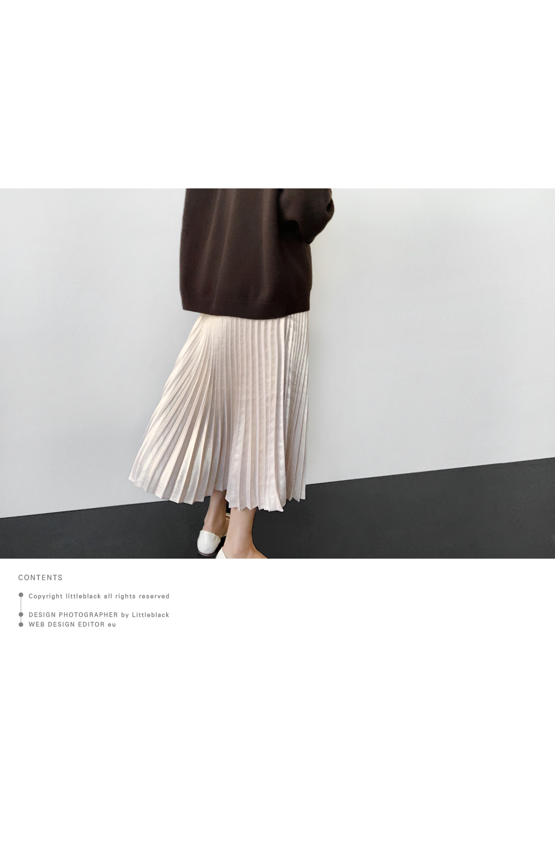 Midaxi Metallic Pleated Skirt|