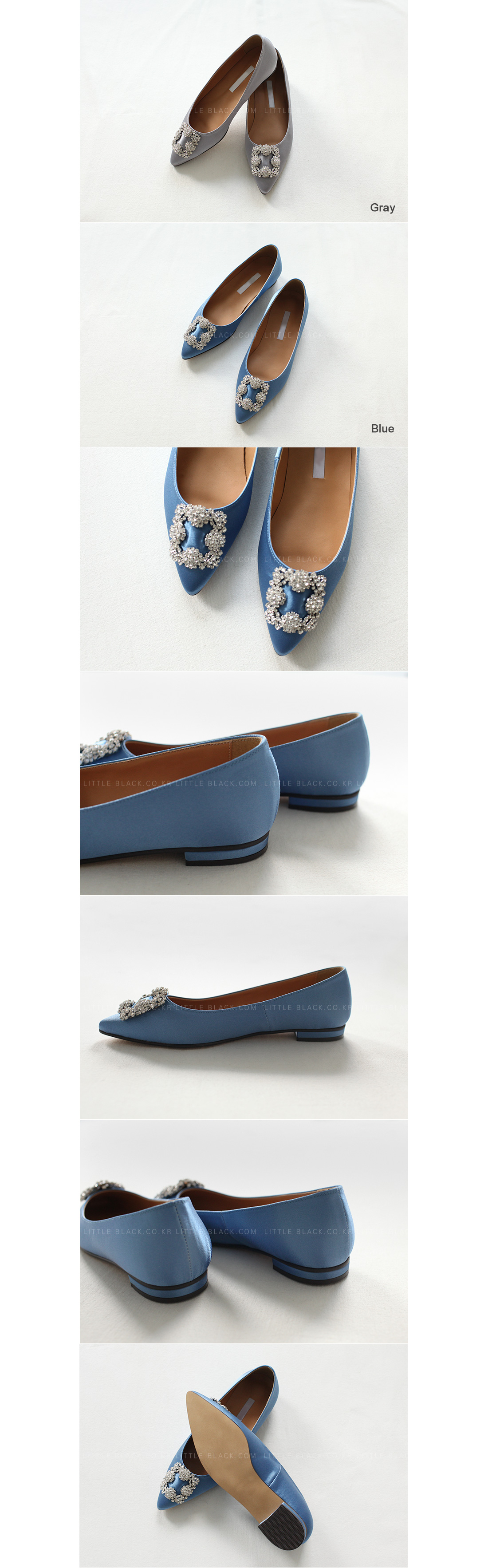 Jewel Embellished Flats|